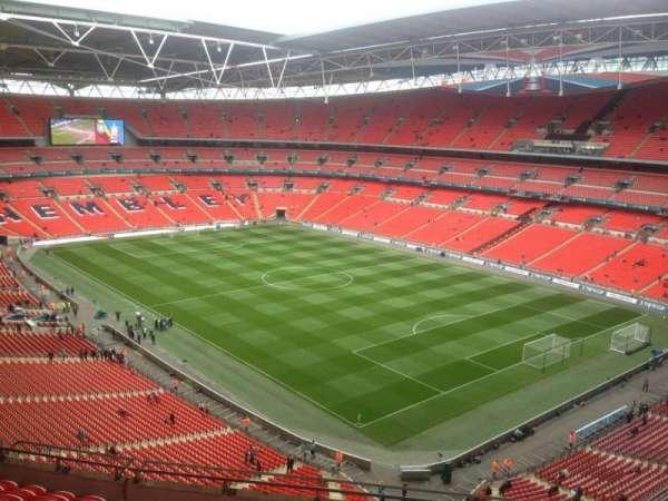 Wembley Stadium, secção: 545, fila: 11, lugar: 173