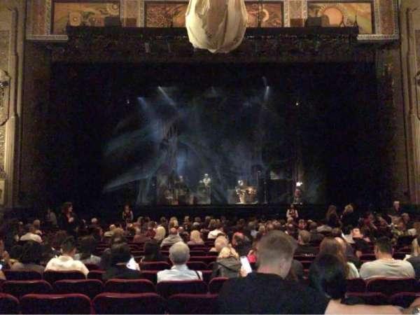 Hollywood Pantages Theatre, secção: Orchestra C, fila: V, lugar: 108