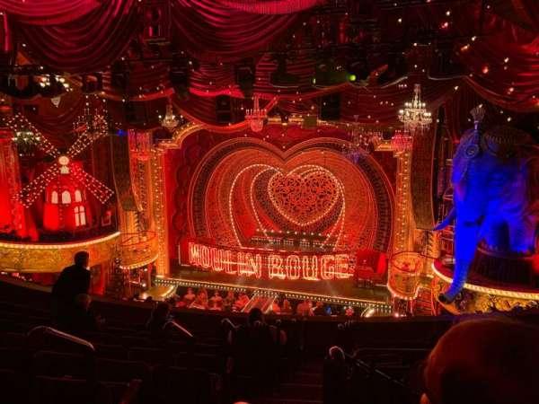 Al Hirschfeld Theatre, secção: Mezzanine R, fila: J, lugar: 2
