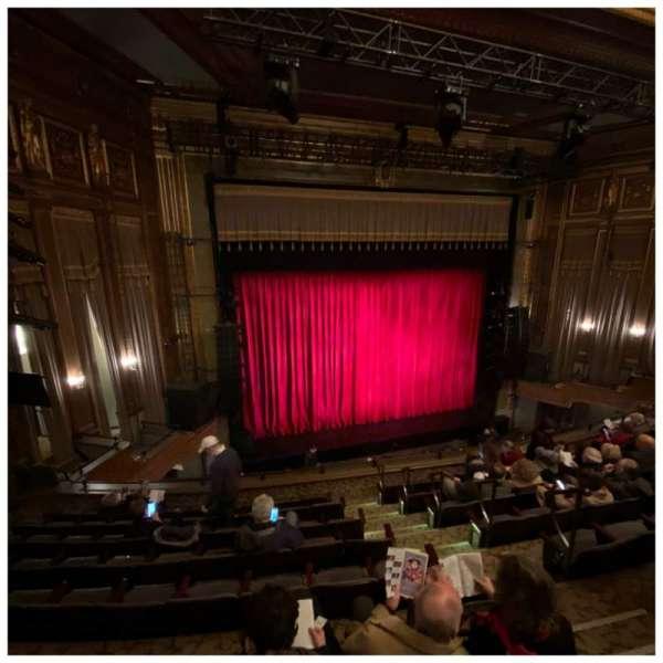 Nederlander Theatre, secção: Mezzanine L, fila: H, lugar: 7