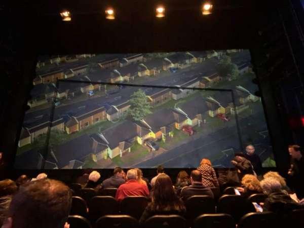 Hayes Theater, secção: Orchestra C, fila: G, lugar: 106