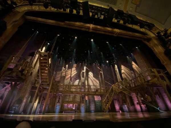 Richard Rodgers Theatre, secção: Orchestra C, fila: B, lugar: 109