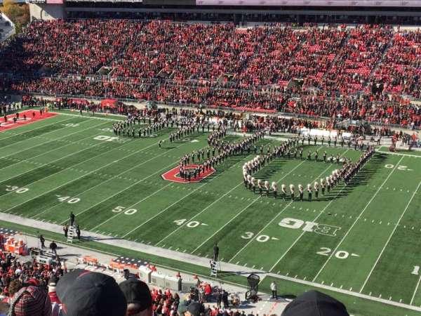 Ohio Stadium, secção: 16C, fila: 10, lugar: 25