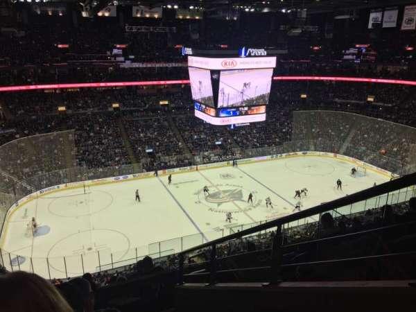Nationwide Arena, secção: 219, fila: H, lugar: 1