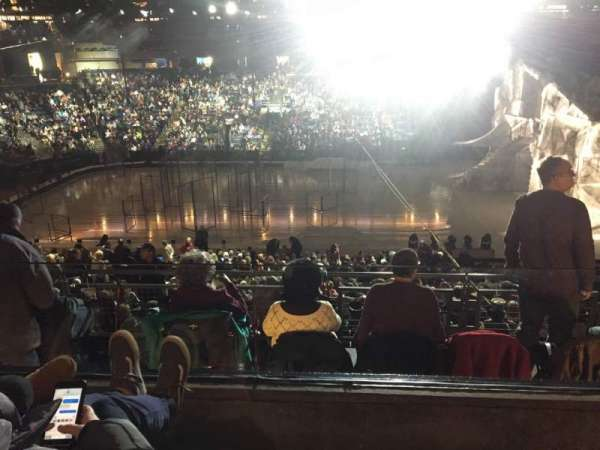 Nationwide Arena, secção: C4, fila: B, lugar: 4