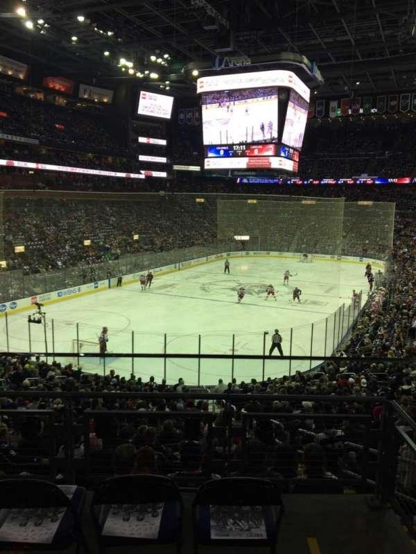 Nationwide Arena, secção: C10, fila: A, lugar: 2
