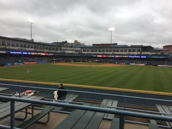 Fifth Third Field, secção: 120, fila: SRO