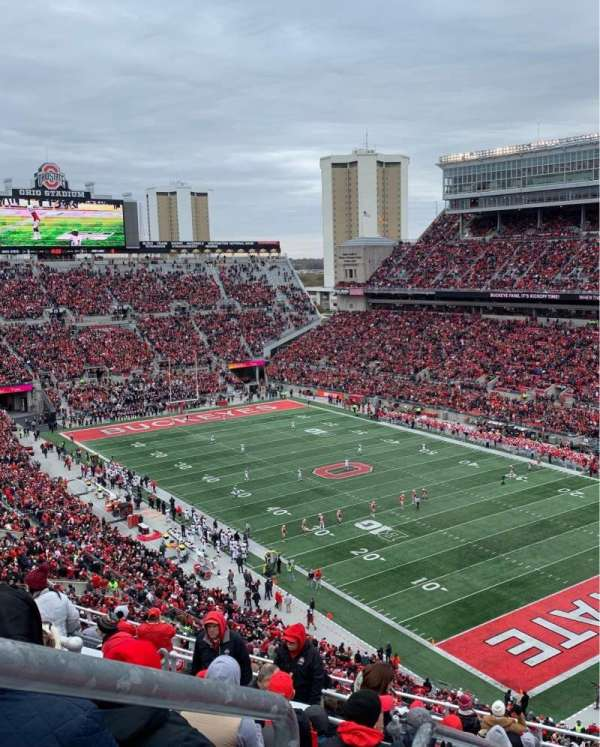 Ohio Stadium, secção: 10C, fila: 15, lugar: 31