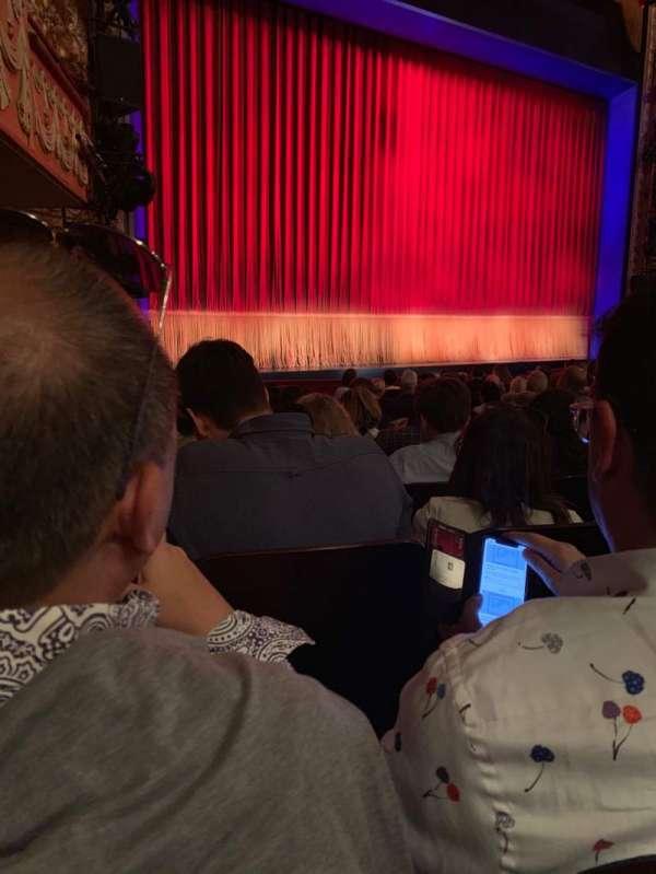 Longacre Theatre, secção: Orch, fila: M, lugar: 14
