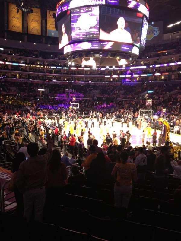 Staples Center, secção: 117, fila: 15, lugar: 4,5