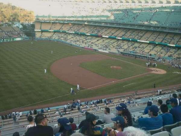 Dodger Stadium, secção: 31rs, fila: J, lugar: 21