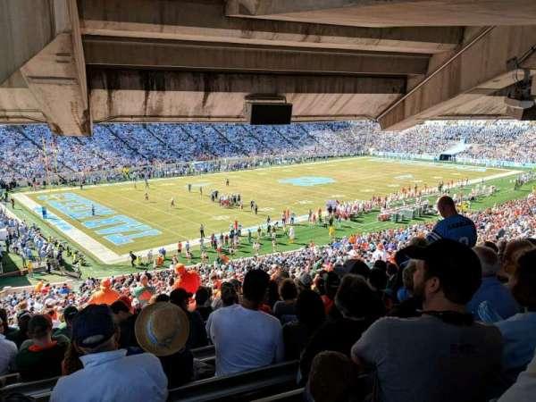 Kenan Memorial Stadium, secção: 101, fila: ccc, lugar: 18