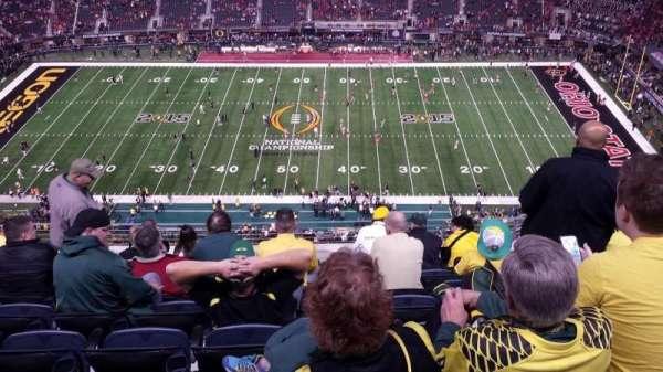 AT&T Stadium, secção: 442, fila: 17, lugar: 10