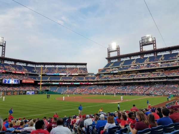 Citizens Bank Park, secção: 137, fila: 21, lugar: 2