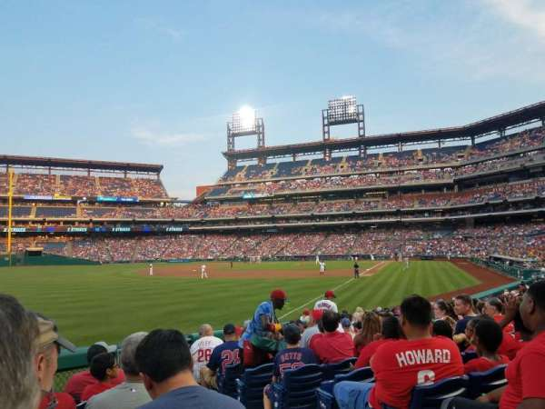 Citizens Bank Park, secção: 139, fila: 17, lugar: 2