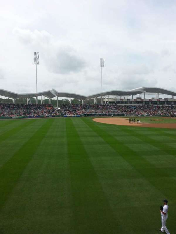 JetBlue Park, secção: Monster 7, fila: 1