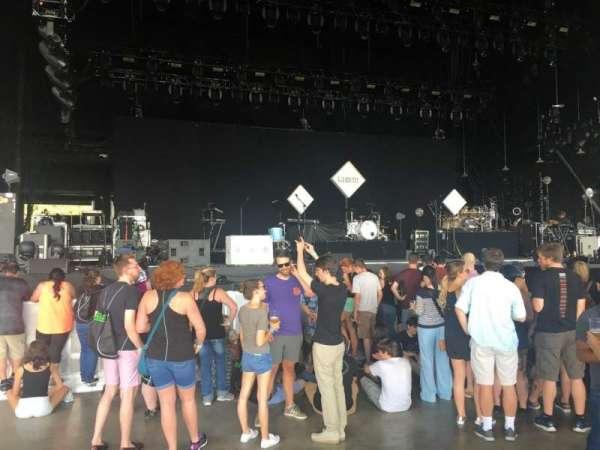 PNC Music Pavilion, secção: 2, fila: J, lugar: 32