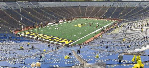 Michigan Stadium, secção: 8, fila: 96