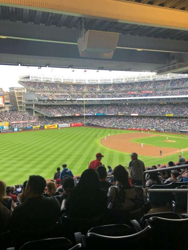 Yankee Stadium, secção: 230, fila: 23