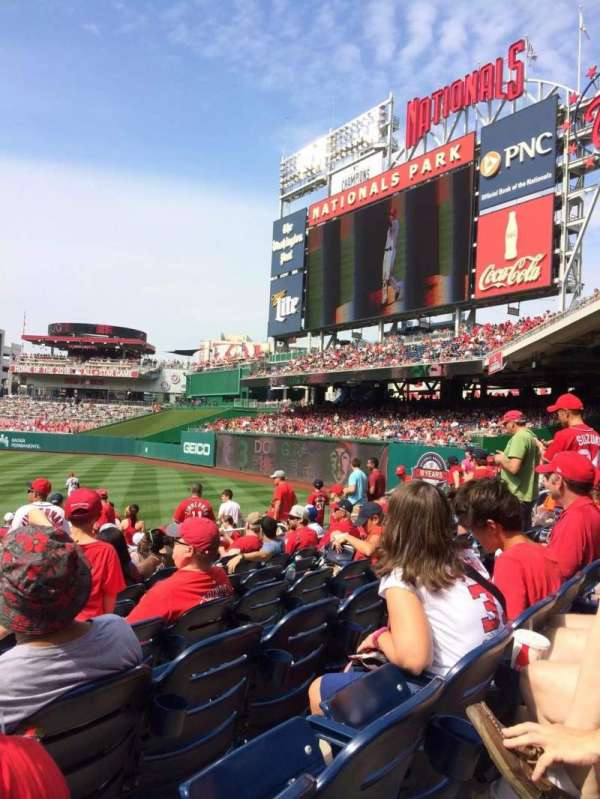 Nationals Park, secção: 136