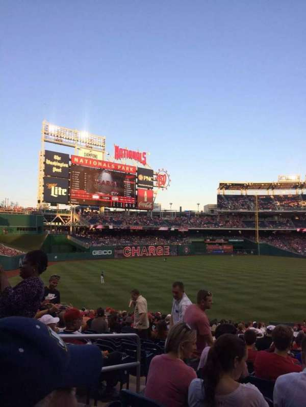 Nationals Park, secção: 108