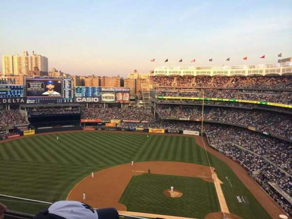 Yankee Stadium, secção: 422