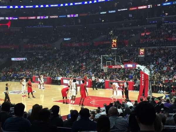 Staples Center, secção: 108, fila: 13, lugar: 16