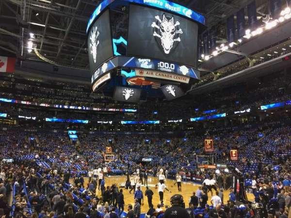 Scotiabank Arena, secção: 104, fila: 9, lugar: 10