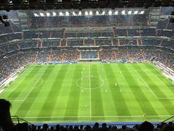 Santiago Bernabéu Stadium, secção: 601, fila: 11, lugar: 9