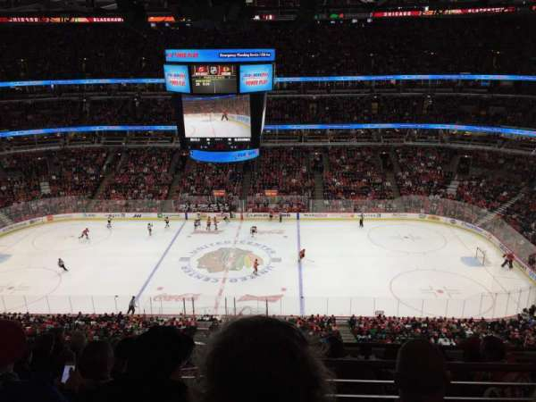 United Center, secção: 317, fila: 2, lugar: 11