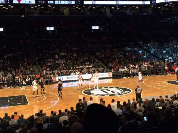Barclays Center, secção: 25, fila: 16, lugar: 11