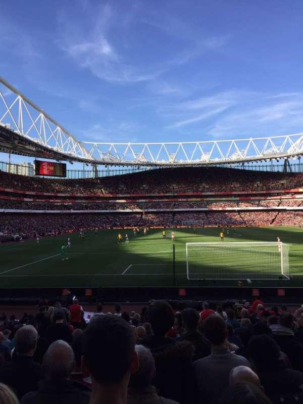 Emirates Stadium, secção: 25, fila: 14