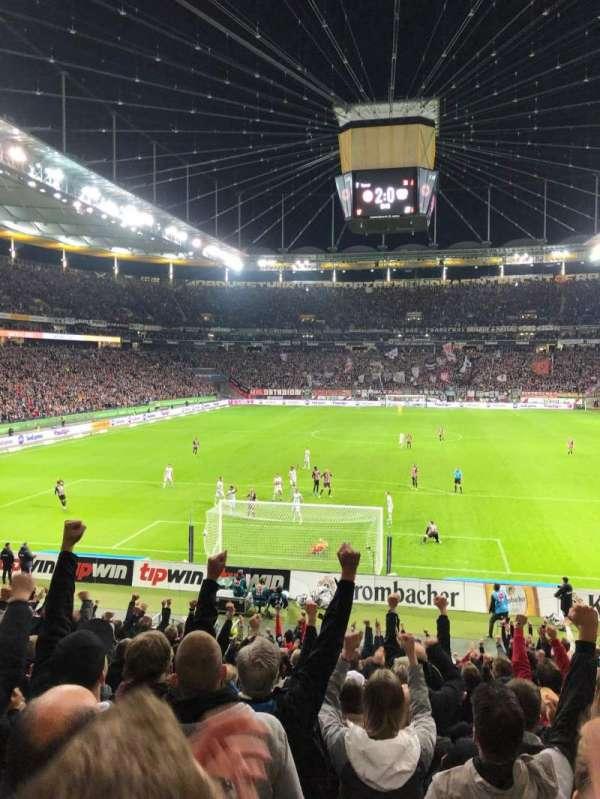 Commerzbank-Arena, secção: 16A, fila: 18, lugar: 12