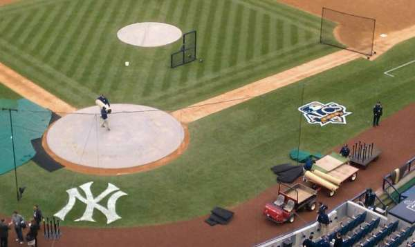Yankee Stadium, secção: 420a, fila: 15, lugar: 1