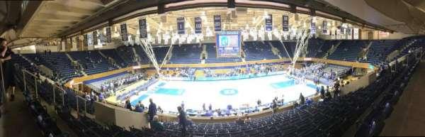 Cameron Indoor Stadium, secção: 6, fila: M