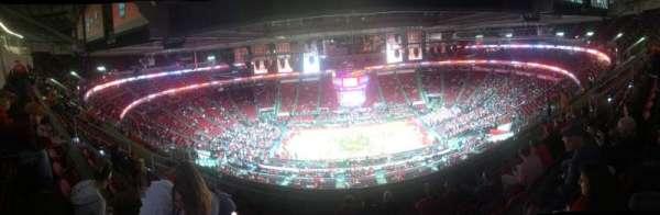 PNC Arena, secção: 324, fila: J, lugar: 11