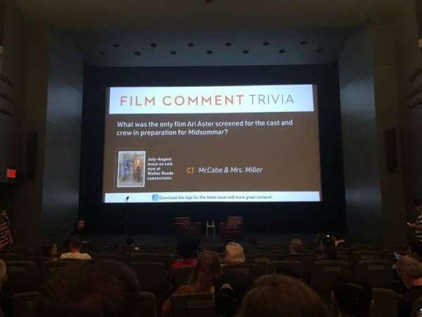 Walter Reade Theater, fila: K, lugar: 107