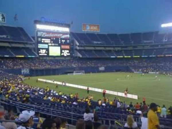 San Diego Stadium, secção: P8