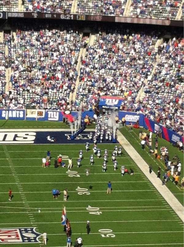MetLife Stadium, secção: 325, fila: 18, lugar: 21