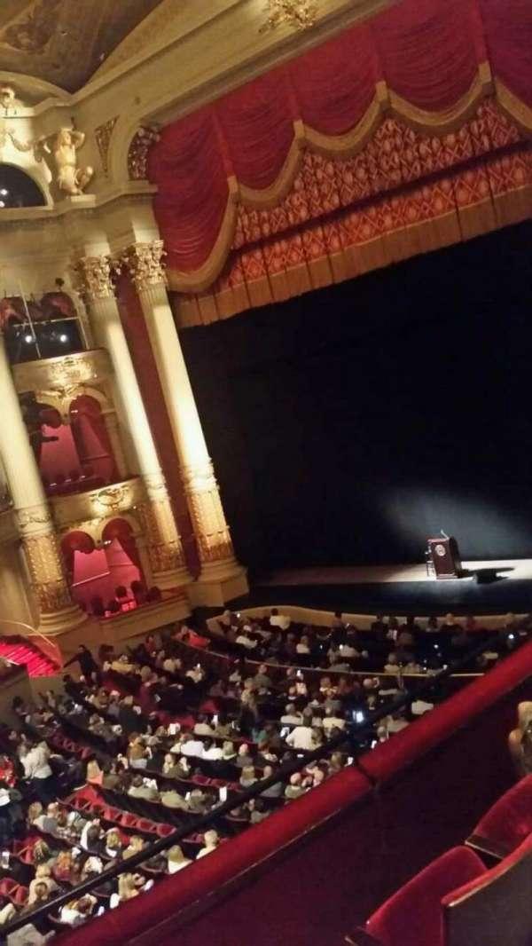 Academy of Music, secção: Balcony C, fila: a, lugar: 26