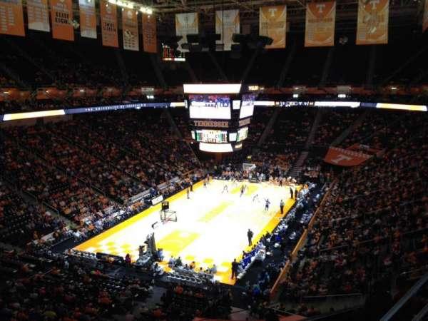 Thompson-Boling Arena, secção: 311, fila: 2, lugar: 1