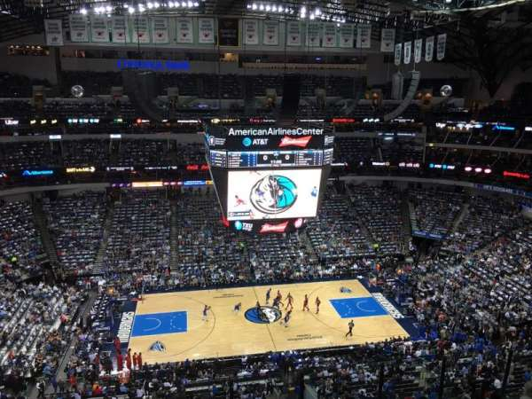 American Airlines Center, secção: 327, fila: G, lugar: 7