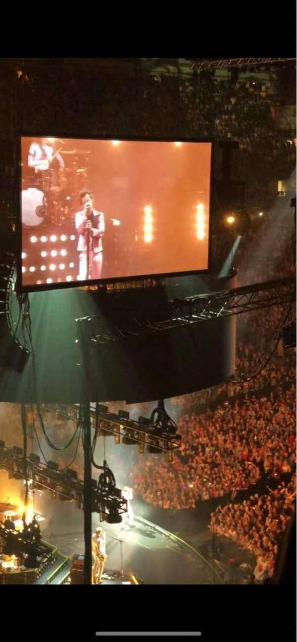 Scotiabank Arena, secção: 312, fila: 3, lugar: 25