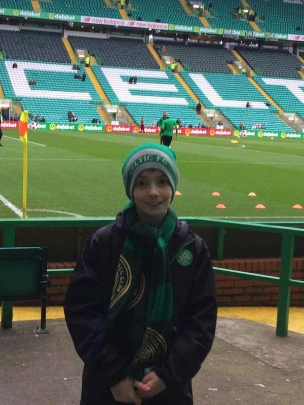 Celtic Park, secção: 121, fila: A, lugar: 7 and 9