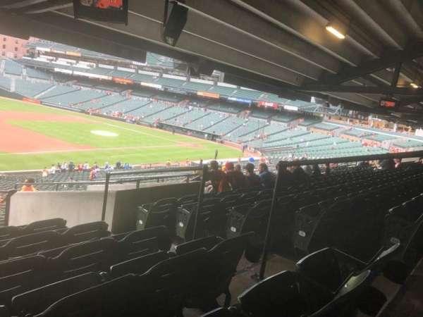 Oriole Park at Camden Yards, secção: 61, fila: 11, lugar: 5