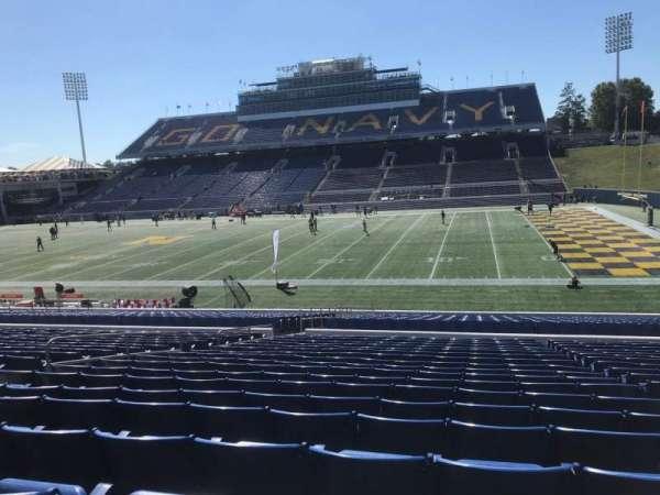 Navy-Marine Corps Memorial Stadium, secção: 26, fila: 19, lugar: 22
