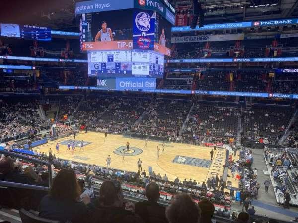 Capital One Arena, secção: 202, fila: F, lugar: 4