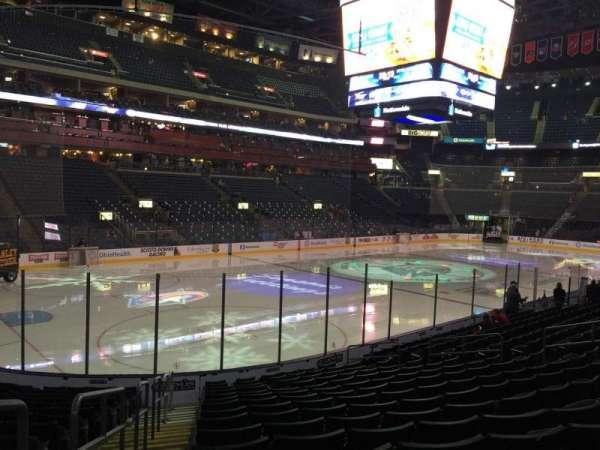 Nationwide Arena, secção: 106, fila: Q, lugar: 20