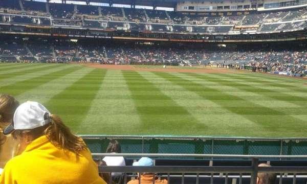 PNC Park, secção: SR, fila: Left, lugar: Field