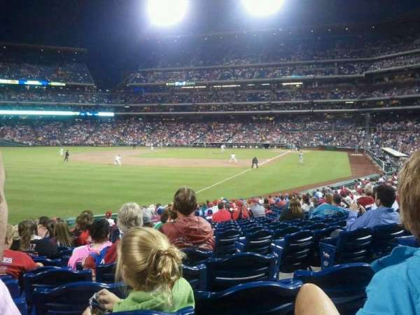 Citizens Bank Park, secção: 139, fila: 25, lugar: 4